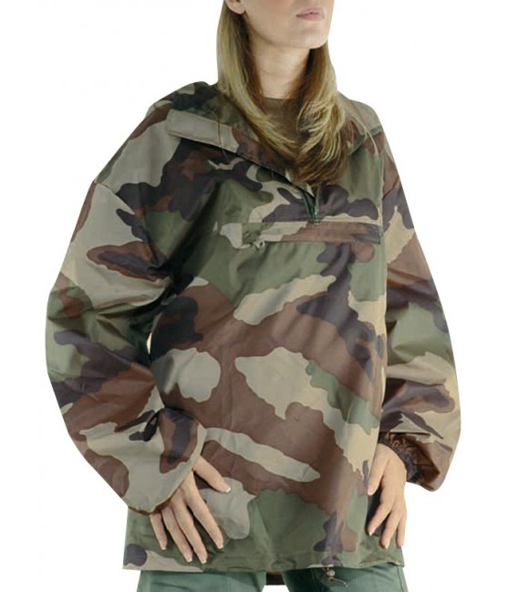 veste militaire coupe-vent Camoufletoi